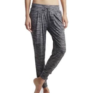 Live Love Dream Gray Joggers Lounge Crop Pants S